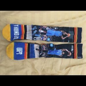 Stance OKC Westbrook Durant Socks size 9-12
